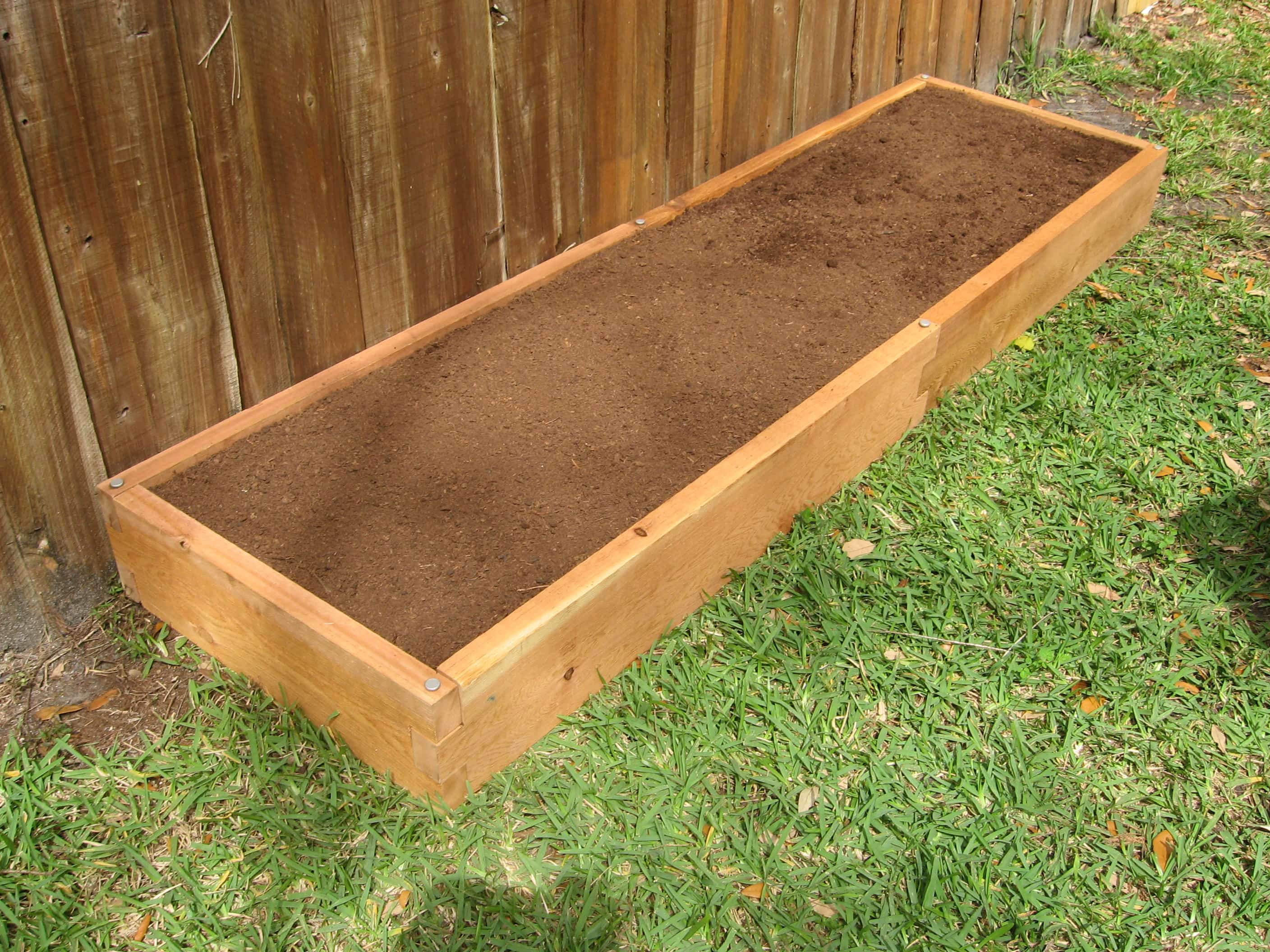 2x8 Raised Garden Bed Cedar Bed Garden In Minutes