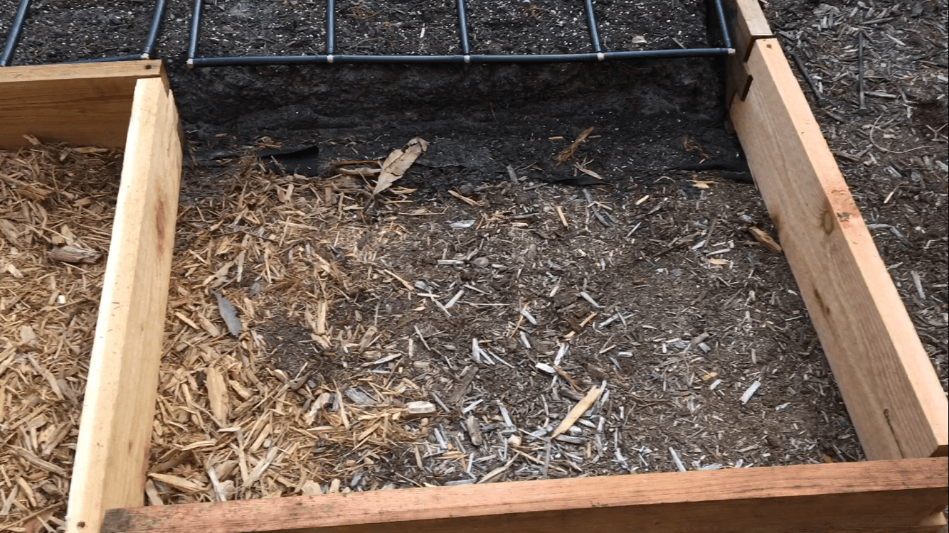 Expanded Raised Garden Bed