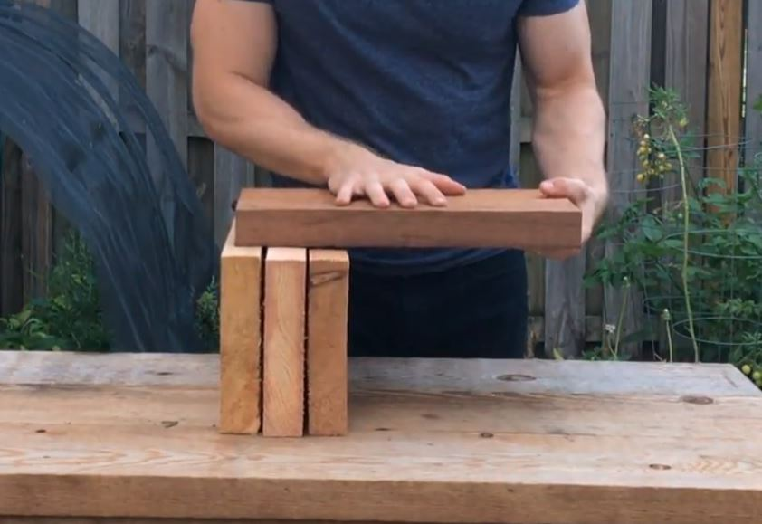 cedar garden bed board strength