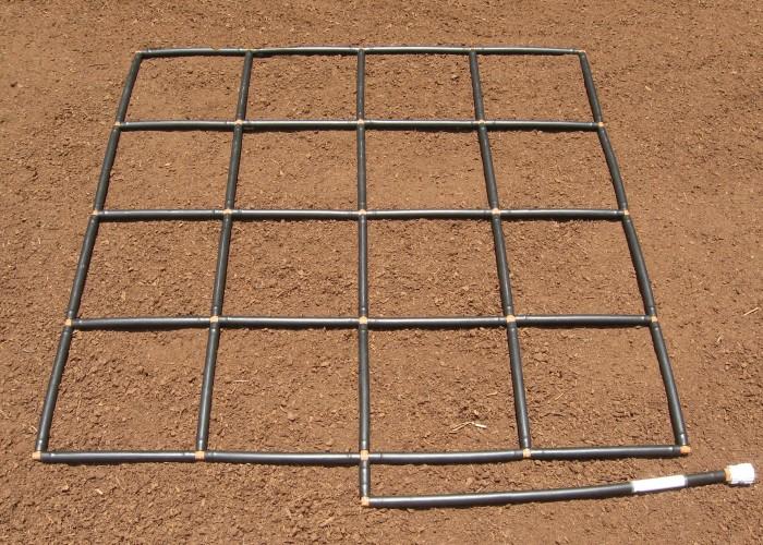 4x4 Garden Grid Garden Irrigation System