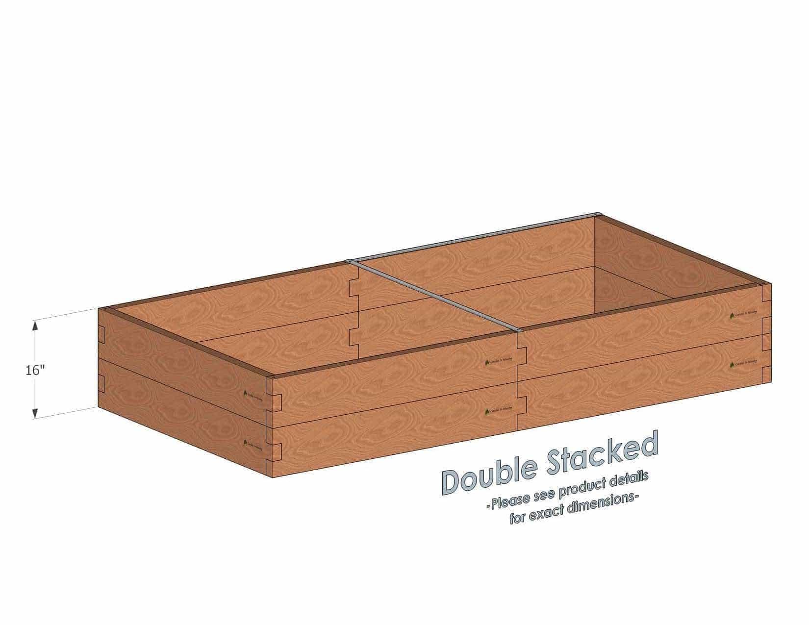 4x8 raised garden bed cedar bed gardeninminutes