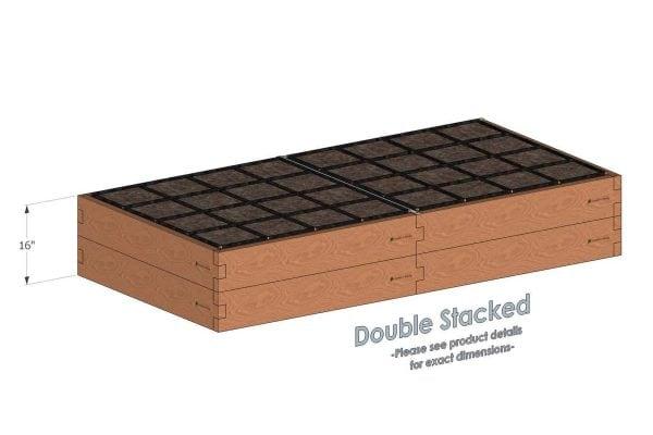 4x8x16_Raised_Garden_Kit_Double_Stacked