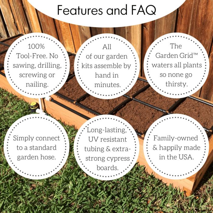 GIM Raised Garden Kit Features & FAQ