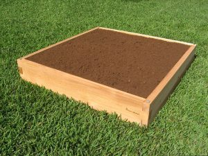4x4 Cedar Raised Garden Bed 4x4