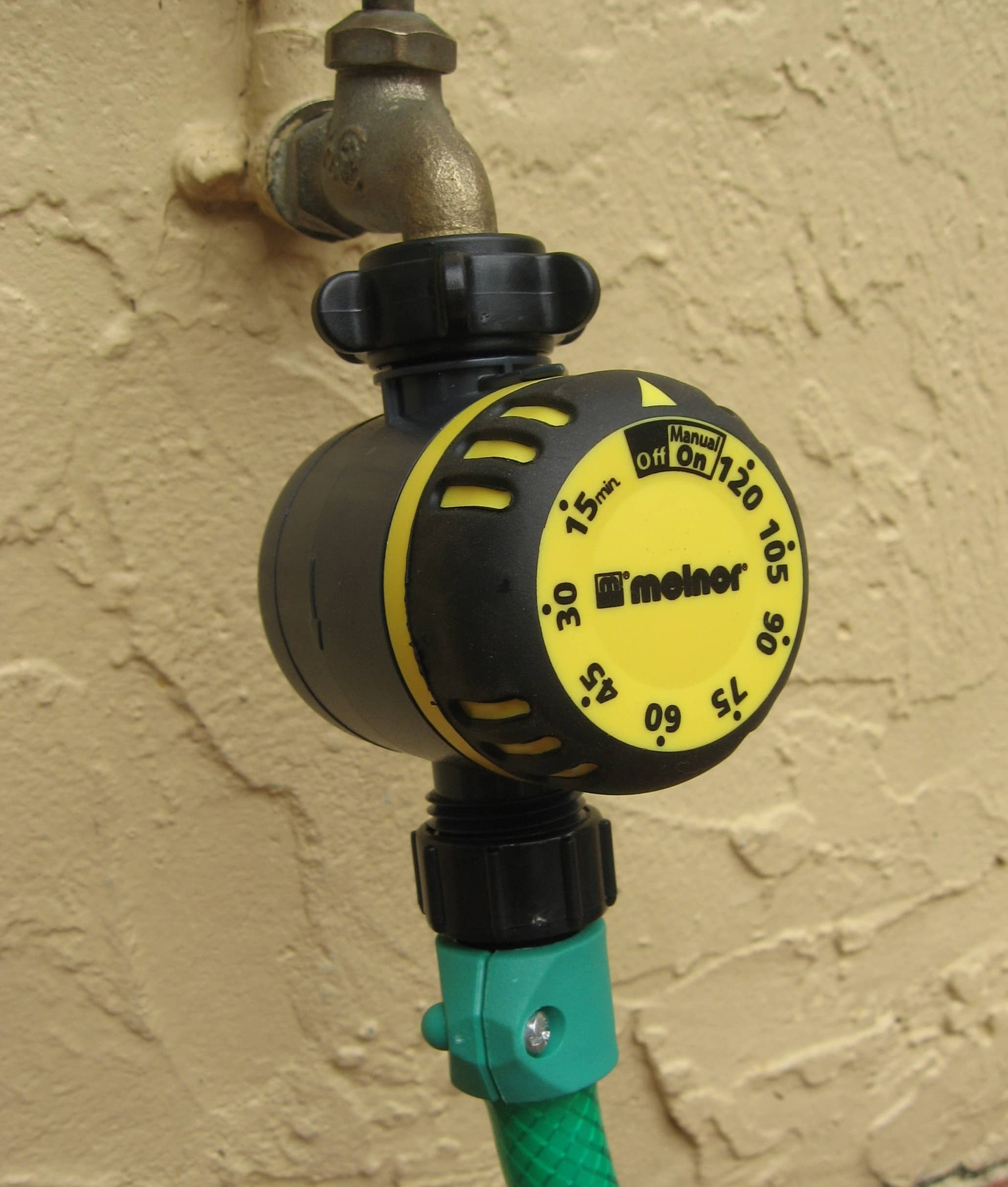 Manual Chronometer Style Garden Hose Timer