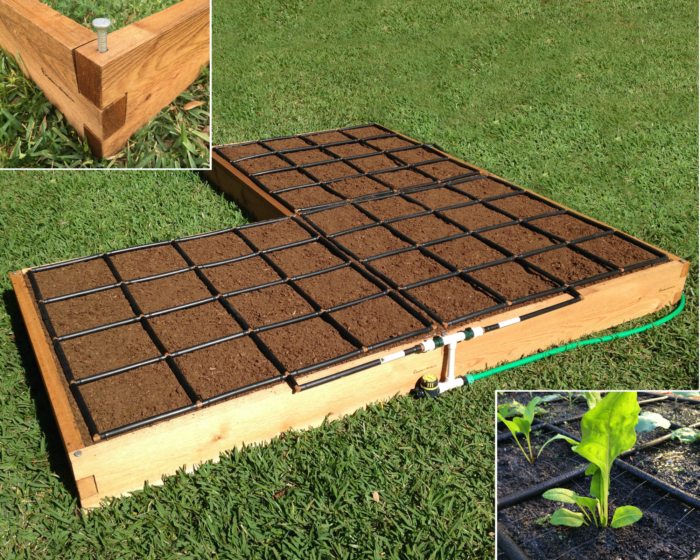 Corner Shape Raised Garden Kit