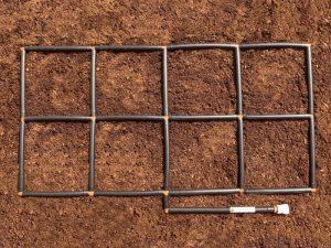 Garden Grid watering system 2x4