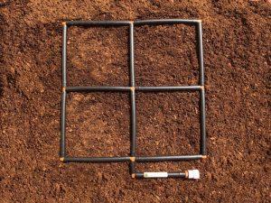 2x2 Garden Grid Watering System