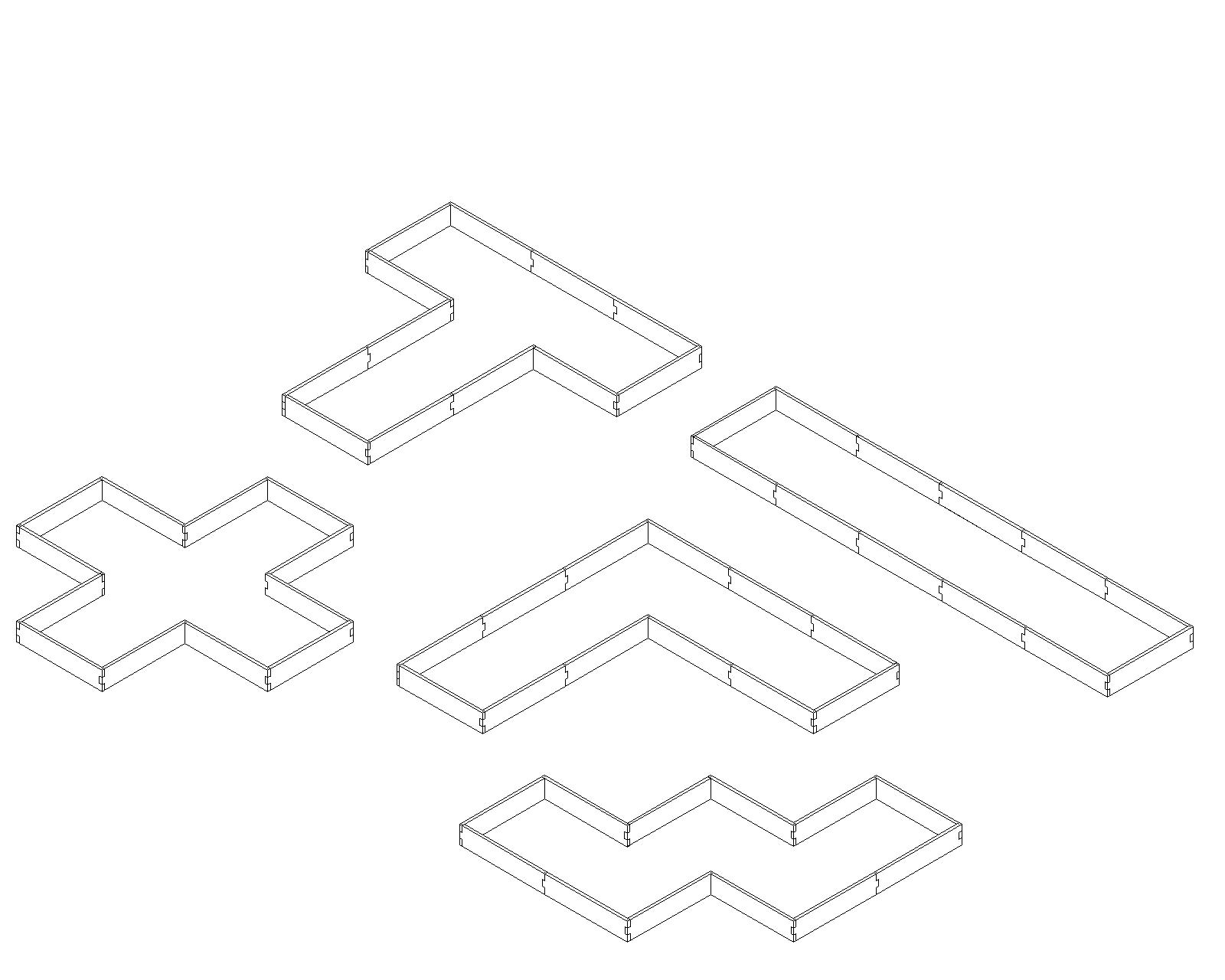 Alternate Layouts For The U Shaped Raised Garden