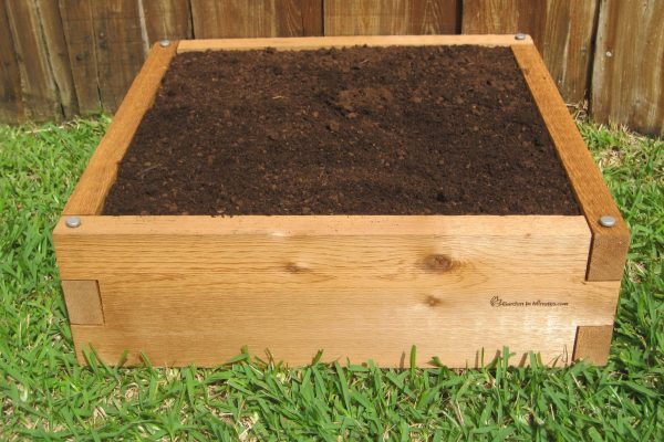 2x2 Raised Garden Bed