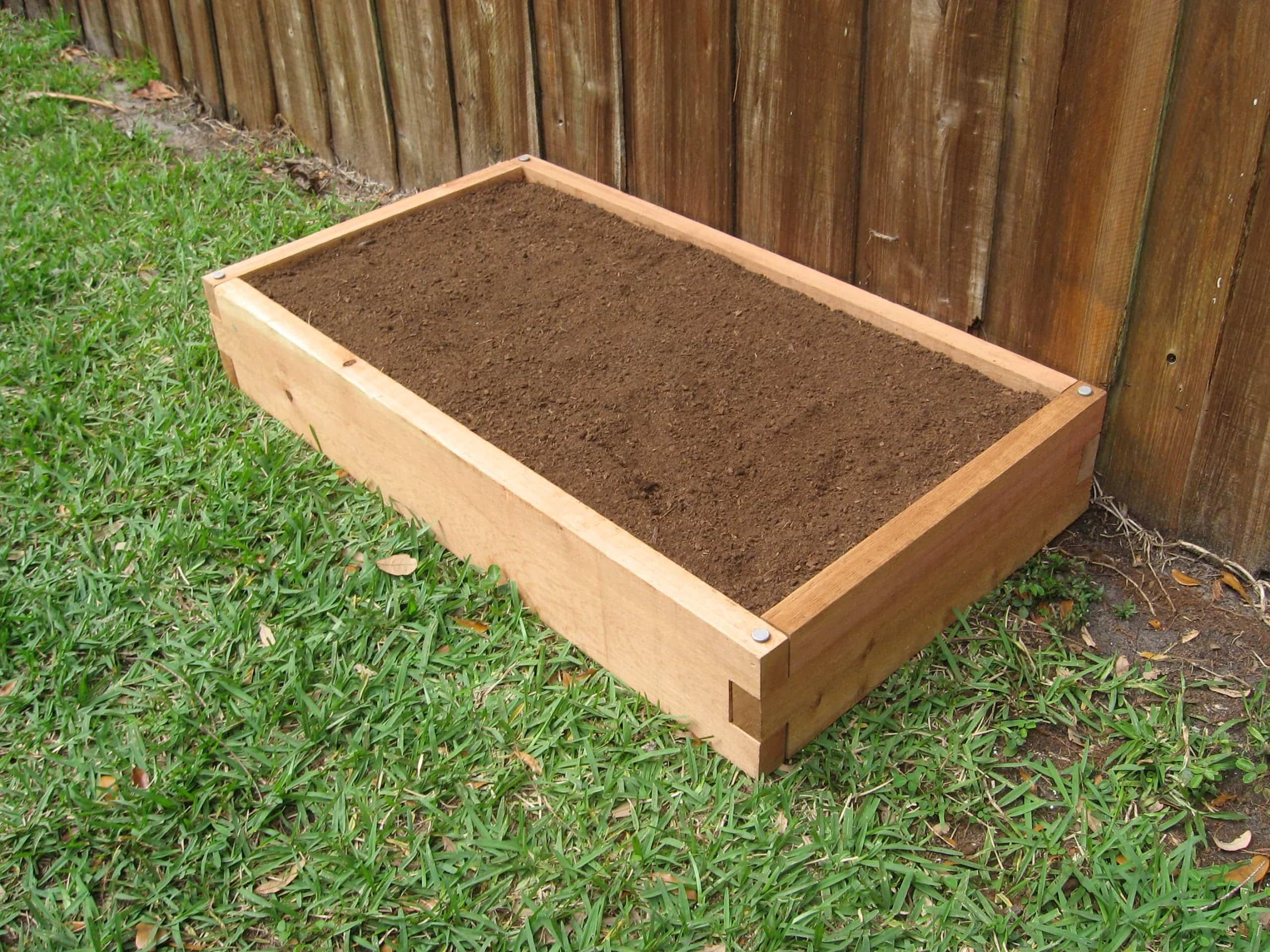 2x4 raised garden bed garden in minutes