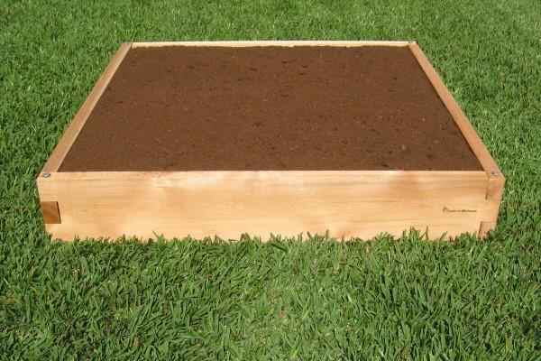 4x4 Raised Garden Bed - Expandable Cedar