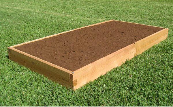4x8 Cedar Raised Garden Bed