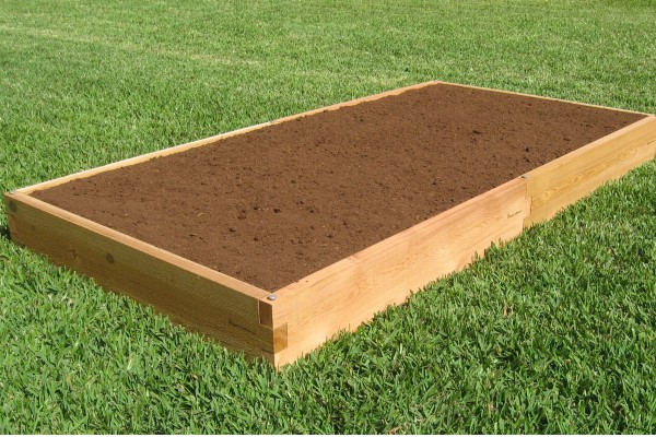 4x8 Raised Garden Bed Cedar