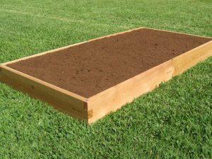 4x8 Cedar Garden Bed