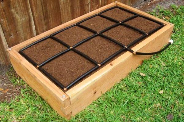 All-in-one, Cedar 2x4 Raised Garden Kit