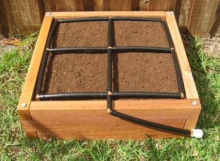 The Garden Grid is designed to fit nearly all garden bed types, but we can customize it for you if need be.
