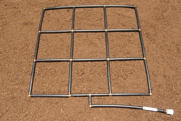 3x3 Garden Grid Garden Irrigation System