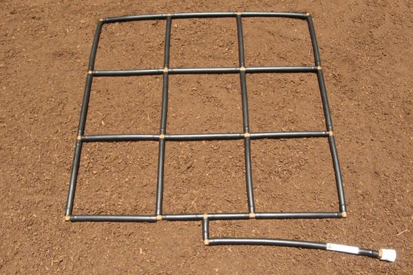The 3x3 Garden Grid Watering System