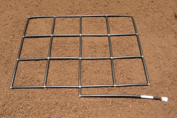 3x4 Garden Grid watering system
