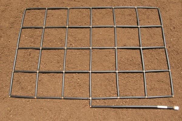4x6 Garden Grid watering system