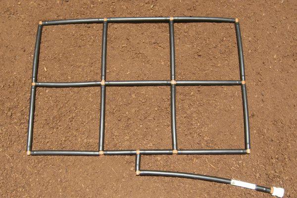 2x3 Garden Grid Garden Irrigation System
