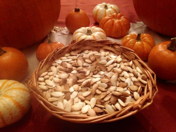 Roasted Cinnamon Pumpkin Seeds Recipe