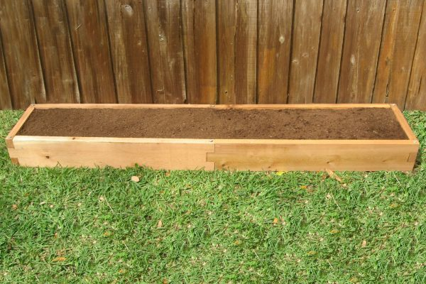 Cedar 1x8 Raised Garden Bed