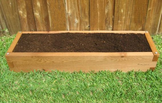 1x4 Cedar Raised Garden Bed