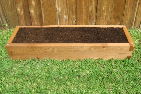 Cedar 1x4 Raised Garden Bed