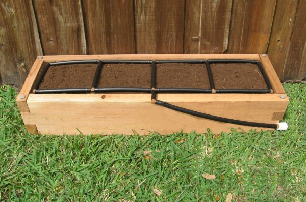 Cedar Raised Garden Kits w Integrated Irrigation US Made