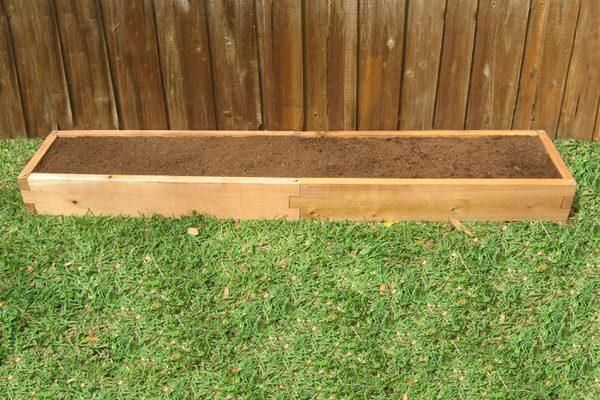 1x8 Cedar Raised Garden Bed