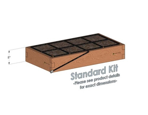 2x4x8_Raised_Garden_Kit_Standard_Bed