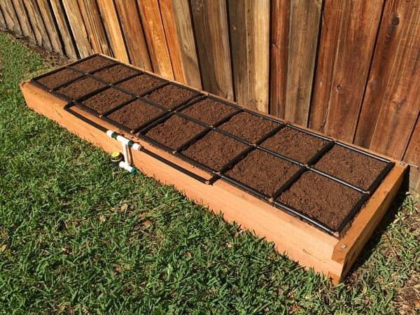... Raised Garden Kit. Effortless Irrigation ...