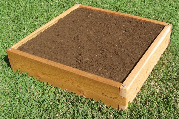 3x3 Raised Garden Bed