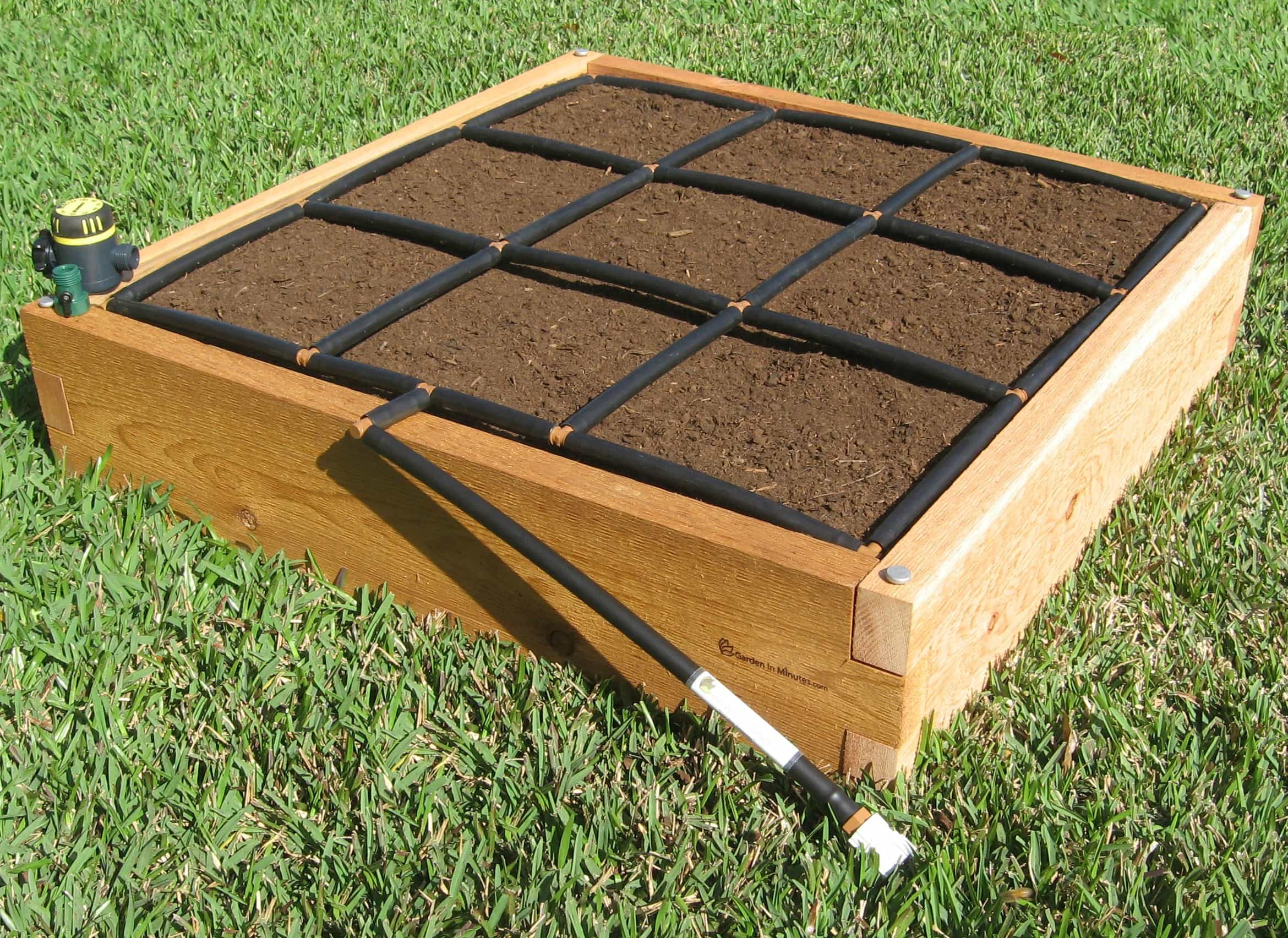 The Garden Grid is designed to fit nearly all garden bed types, but we can customize it for you if need be!