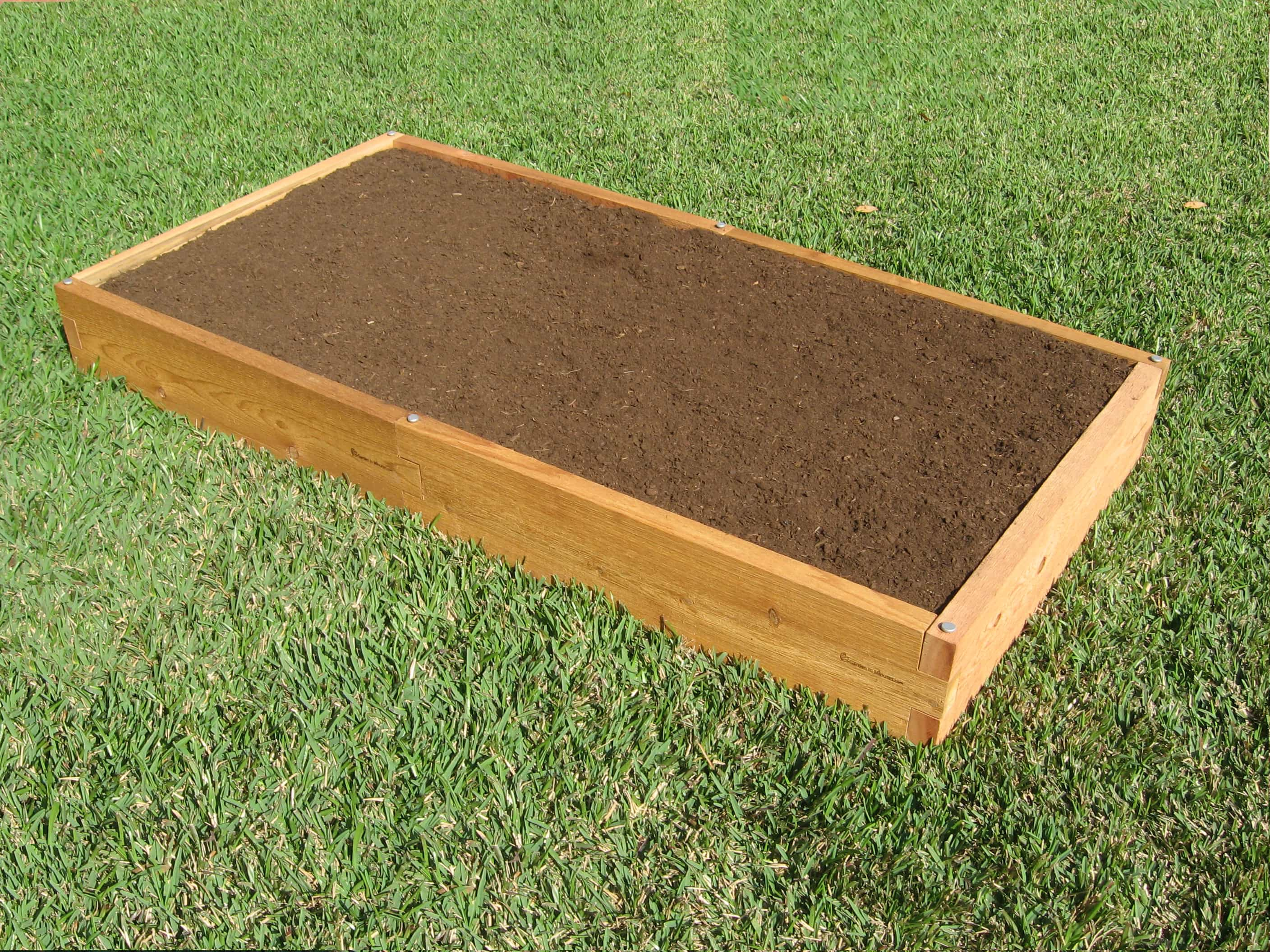 3x6 Raised Garden Bed 3x6 Cedar Bed Garden In Minutes