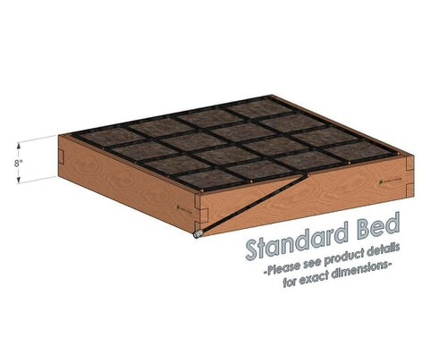 4x4x8_Raised_Garden_Kit_Standard_Bed