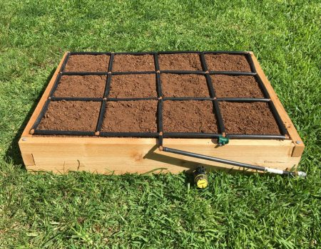 Cedar 3x4 Raised Garden Kit with Garden Grid Watering System