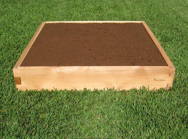 3x4 Cedar Raised Garden Bed