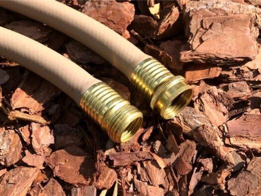 Custom length garden hose us made flexible kink resistant brass ends polymer