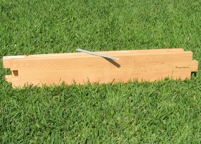 3ft Cedar Raised Garden Bed Expansion Boards