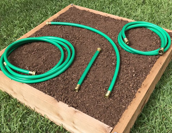 short garden hose by the foot custom lengths - Garden Hose