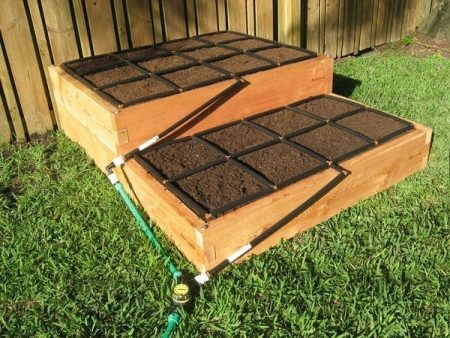 4x5 Tiered Raised Garden Kit