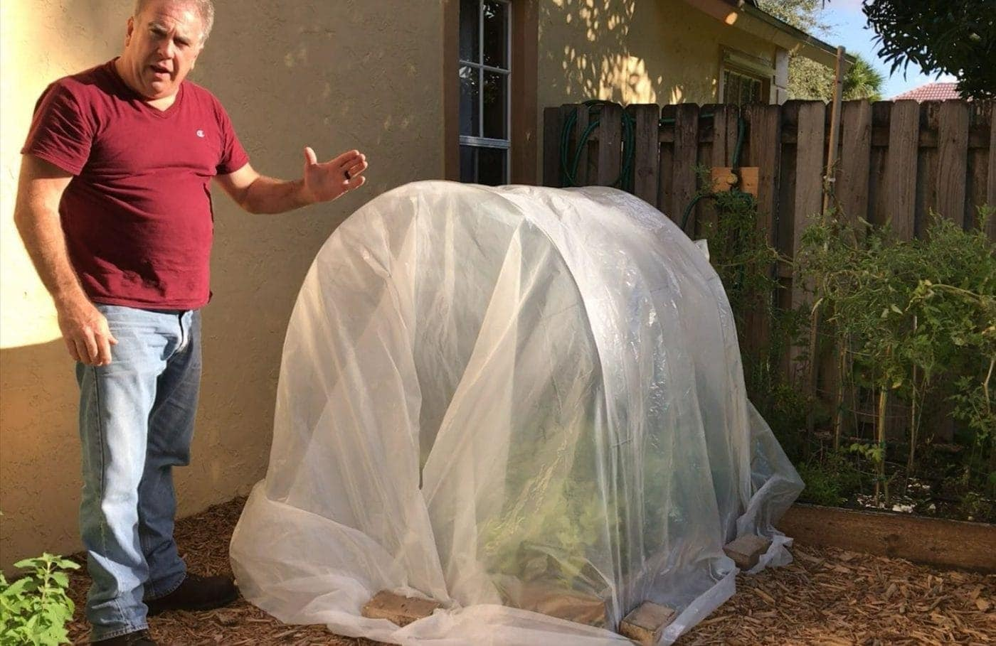 Build A Raised Garden Bed Greenhouse In Minutes Gardeninminutes