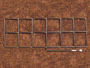 2x6 Garden Grid watering system