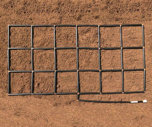 3x6 Garden Grid watering system