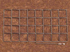 4x8 Garden Grid watering system