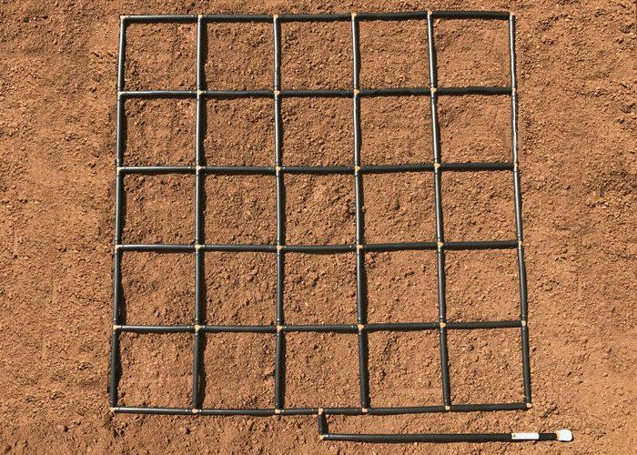 5x5 Garden Grid watering system_1