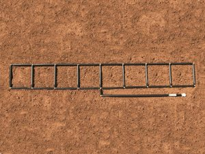1x8 Garden Grid watering system